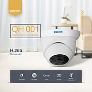 お買い得  -エスカムqh001 hv65 1080pのP2Pスマートな分析機能を持つIRドームipカメラonvif