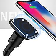 preiswerte iPod Zubehör-neun fünf nc1 2 in 1 hoher Effizienz magnetischer Auto-drahtloses Ladegerät für Apple iphone x iphone 8plus samsung s8