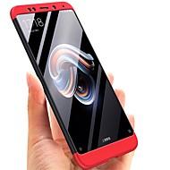 お買い得  携帯電話ケース-ケース 用途 Xiaomi Redmi Note 5 Pro メッキ仕上げ バックカバー ソリッド ハード PC のために Xiaomi Redmi Note 5 Pro / Xiaomi Redmi注5
