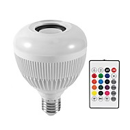 abordables Iluminación Profesional-KWB 1pc 12 W 1200 lm E26 / E27 Bombillas LED Inteligentes G95 28 Cuentas LED SMD Smart / Bluetooth / Regulable RGBW 100-240 V