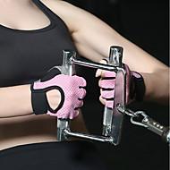 abordables -Gants / Gants d'Exercice / Gants de Boxe d'Entraînement pour Yoga / Boxe / Exercice & Fitness Amortissement / Gluant / Respirable Matière synthétique 1 set Bleu / Rose / Gris