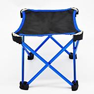 abordables Muebles de Acampada-Jungle King Sille plegable para camping Al aire libre Ligero Tejido Oxford para Pesca - 1 Persona Naranja / Azul Oscuro / Fucsia