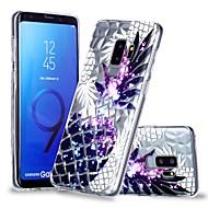 Недорогие Чехлы и кейсы для Galaxy S-Кейс для Назначение SSamsung Galaxy S9 Plus / S9 Прозрачный / С узором Кейс на заднюю панель Фрукты Мягкий ТПУ для S9 / S9 Plus / S8 Plus