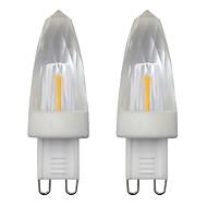 お買い得  LED キャンドルライト-2pcs 3 W 150-200 lm G9 LEDキャンドルライト 1 LEDビーズ COB 装飾用 温白色 / クールホワイト 220-240 V