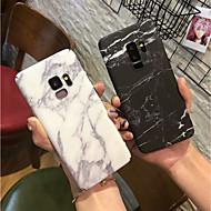 Недорогие Чехлы и кейсы для Galaxy S8-Кейс для Назначение SSamsung Galaxy S9 Plus / S9 Матовое Кейс на заднюю панель Мрамор Твердый ПК для S9 / S9 Plus / S8 Plus