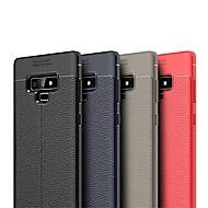 Недорогие Чехлы и кейсы для Galaxy Note 8-Кейс для Назначение SSamsung Galaxy Note 9 / Note 8 Ультратонкий Кейс на заднюю панель Однотонный Мягкий ТПУ для Note 9 / Note 8