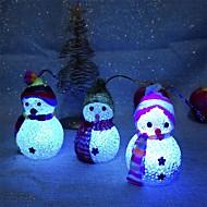 abordables Accesorios para Hogar y Mascotas-Decoraciones de vacaciones Año Nuevo / Decoraciones Navideñas Luces de Navidad / ornamentos de Navidad Fiesta / Decorativa Transparente 2pcs
