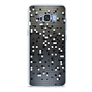 Недорогие Чехлы и кейсы для Galaxy S9 Plus-Кейс для Назначение SSamsung Galaxy Xperia Z5 Premium / S9 Plus / S9 С узором Кейс на заднюю панель Плитка Мягкий ТПУ для S9 / S9 Plus / S8 Plus