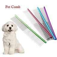 abordables Accesorios para Hogar y Mascotas-Perros / Gatos de Aseo Peines Portátil Rojo / Verde / Azul