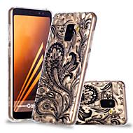 Недорогие Чехлы и кейсы для Galaxy А-Кейс для Назначение SSamsung Galaxy A8 Plus 2018 / A8 2018 С узором Кейс на заднюю панель Кружева Печать Мягкий ТПУ для A6 (2018) / A6+ (2018) / A8 2018