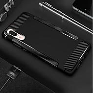 preiswerte Handyhüllen-Hülle Für Huawei P20 / P20 lite Stoßresistent / Mattiert Rückseite Solide / Linien / Wellen Weich TPU für Huawei P20 / Huawei P20 Pro / Huawei P20 lite