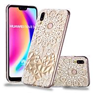 abordables Fundas para Móvil-Funda Para Huawei P20 Pro / P20 lite Diseños Funda Trasera Mandala Suave TPU para Huawei P20 / Huawei P20 Pro / Huawei P20 lite