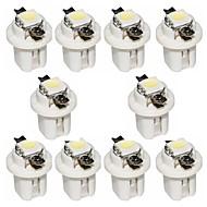 Недорогие Сигнальные огни для авто-otolampara 10 шт. b8.3 5050 1smd 6000k светодиодная лампа белого цвета
