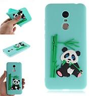 preiswerte Handyhüllen-Hülle Für Xiaomi Redmi Note 5 Pro / Redmi 5 Plus Muster Rückseite 3D Zeichentrick / Panda Weich TPU für Xiaomi Redmi Note 5 Pro / Redmi 5A / Xiaomi Redmi 5 Plus
