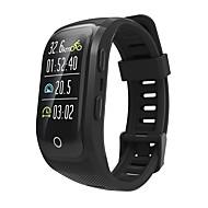 お買い得  -Indear S908PLUS 男性 スマートブレスレット Android iOS ブルートゥース GPS スポーツ 防水 心拍計 タッチスクリーン 歩数計 着信通知 アクティビティトラッカー 睡眠サイクル計測器 座りがちなリマインダー / 端末検索 / 目覚まし時計