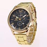 abordables Relojes Formales-Hombre Reloj de Vestir / Reloj de Pulsera Chino Nuevo diseño / Reloj Casual Aleación Banda Casual / Moda Dorado