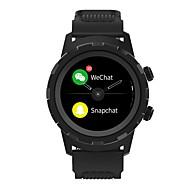 Недорогие Смарт-электроника-KING WEAR YY-P01 Умный браслет Android iOS Bluetooth Водонепроницаемый Пульсомер Сенсорный экран Израсходовано калорий Длительное время ожидания / Педометр / Напоминание о звонке