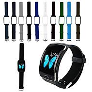 Недорогие Часы для Samsung-Ремешок для часов для Gear S R750 Samsung Galaxy Спортивный ремешок силиконовый Повязка на запястье