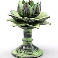 abordables Home Fragrances-Moderno / Contemporáneo Acero inoxidable Candelabros Candelabro 1pc, Candelero / candelero