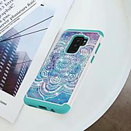 Недорогие Чехлы и кейсы для Galaxy S9 Plus-Кейс для Назначение SSamsung Galaxy S9 Plus / S9 Защита от удара / Стразы / С узором Кейс на заднюю панель Мандала Твердый ПК для S9 / S9 Plus / S8 Plus