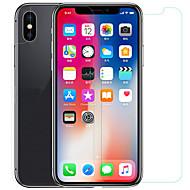 Недорогие Защитные плёнки для экрана iPhone-Защитная плёнка для экрана для Apple iPhone XS Закаленное стекло / PET 1 ед. Защитная пленка для экрана и задней панели HD / Уровень защиты 9H / 2.5D закругленные углы