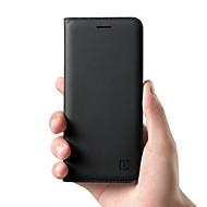 preiswerte Handyhüllen-Hülle Für OnePlus 5 / OnePlus 5T Kreditkartenfächer / Flipbare Hülle Ganzkörper-Gehäuse Solide Hart Echtleder für OnePlus 6 / One Plus 5 / OnePlus 5T