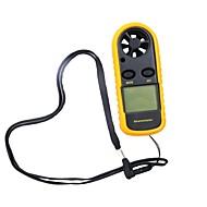 お買い得  -液晶バックライトディスプレイ付き0-30m / sデジタル風速計風速センサー-10〜45℃