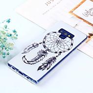 Недорогие Чехлы и кейсы для Galaxy Note 8-Кейс для Назначение SSamsung Galaxy Note 9 / Note 8 С узором Кейс на заднюю панель Ловец снов Мягкий ТПУ для Note 9 / Note 8