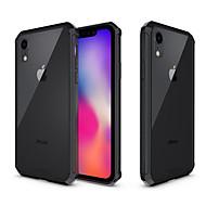 Недорогие Кейсы для iPhone 8 Plus-Кейс для Назначение Apple iPhone XR / iPhone XS Max Защита от удара / Полупрозрачный Кейс на заднюю панель Однотонный Твердый Акрил для iPhone XS / iPhone XR / iPhone XS Max