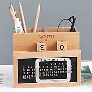 abordables Almacenamiento de escritorio-Madera Rectángulo Creativo / Nuevo diseño Casa Organización, 1pc Organizadores de Escritorio