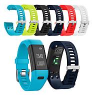 Недорогие Аксессуары для смарт-часов-Ремешок для часов для Vivosmart HR Garmin Спортивный ремешок силиконовый Повязка на запястье