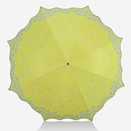abordables Accesorios para la Lluvia-Acero Inoxidable Mujer Soleado y lluvioso / Adorable Paraguas de Doblar