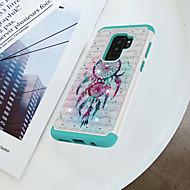 Недорогие Чехлы и кейсы для Galaxy S9-Кейс для Назначение SSamsung Galaxy S9 Plus / S9 Защита от удара / Стразы / С узором Кейс на заднюю панель Ловец снов Твердый ПК для S9 / S9 Plus / S8 Plus