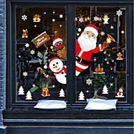 abordables Textiles para el Hogar-Ventana de película y pegatinas Decoración Animal / Navidad Personajes CLORURO DE POLIVINILO Adhesivo para Ventana / Adorable / Gracioso