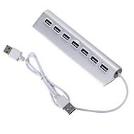 お買い得  USB ハブ & スイッチ-7 USBハブ USB 2.0 USB 2.0 ウルトラスリム / OTG データハブ