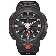 levne -SMAEL Pánské Sportovní hodinky Digitální hodinky japonština Digitální Černá 50 m Voděodolné Kalendář Chronograf Analog - Digitál Módní - Černá / červená Černá / Modrá / Stopky / Svítící