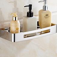 お買い得  浴室用小物-浴室棚 新デザイン / クール コンテンポラリー ステンレス 1個 壁式