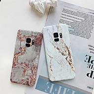 Недорогие Чехлы и кейсы для Galaxy S9 Plus-Кейс для Назначение SSamsung Galaxy S9 Plus / S8 Plus С узором Кейс на заднюю панель Мрамор Твердый ПК для S9 / S9 Plus / S8 Plus