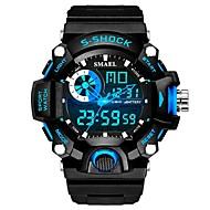levne -SMAEL Pánské Sportovní hodinky Digitální hodinky japonština Digitální Černá 30 m Voděodolné Kalendář Stopky Analog - Digitál Módní - Černá / červená Černá / Modrá / Svítící