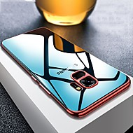 Недорогие Чехлы и кейсы для Galaxy S8 Plus-Кейс для Назначение SSamsung Galaxy S9 Plus / S9 Покрытие / Ультратонкий / Прозрачный Кейс на заднюю панель Однотонный Мягкий ТПУ для S9 / S9 Plus / S8 Plus