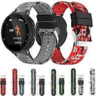 Недорогие Аксессуары для смарт-часов-Ремешок для часов для Forerunner 935 Garmin Спортивный ремешок силиконовый Повязка на запястье