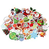 cheap Automotive & Motorcycle-100 Pcs/Pack Classic Fashion Christmas Style Graffiti Stickers For Moto Car & Suitcase Cool Laptop Stickers Skateboard Sticker