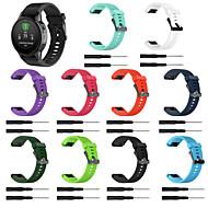 Недорогие Аксессуары для смарт-часов-Ремешок для часов для Fenix 5s / Garmin Quickfit Garmin Спортивный ремешок силиконовый Повязка на запястье
