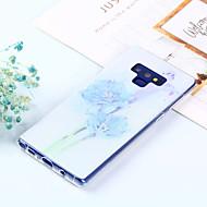 Недорогие Чехлы и кейсы для Galaxy Note-Кейс для Назначение SSamsung Galaxy Note 9 / Note 8 С узором Кейс на заднюю панель Цветы Мягкий ТПУ для Note 9 / Note 8