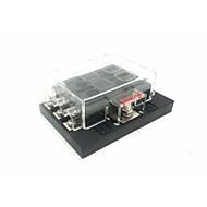 abordables Alarmas de Coche-Dc32v 100a caja de fusibles de inserción de automóvil / barco salida de 6 vías (30a por circuito) entrada de alimentación única
