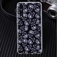 お買い得  携帯電話ケース-ケース 用途 Huawei P20 / P20 Pro 超薄型 / クリア / パターン バックカバー スカル ソフト TPU のために Huawei P20 / Huawei P20 Pro / Huawei P20 lite