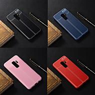 Недорогие Чехлы и кейсы для Galaxy S9 Plus-Кейс для Назначение SSamsung Galaxy S9 Plus / S9 Матовое Кейс на заднюю панель Однотонный Мягкий ТПУ для S9 / S9 Plus / S8 Plus
