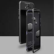 お買い得  携帯電話ケース-ケース 用途 Huawei Mate 10 pro / Mate 10 磁石バックル フルボディーケース ソリッド ハード 強化ガラス のために Huawei Honor 10 / Mate 10 / Mate 10 pro