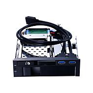 お買い得  -Unestech USB 3.0 に SATA 3.0 ハードドライブブラケットコンバータトレイ プラグアンドプレイ / LEDライト付きケース / マルチファンクション / ホット販売 8000 GB ST7223U