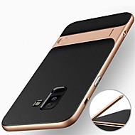 Coque Pour Samsung Galaxy A6+ (2018) / A6 (2018) Antichoc / Avec Support Coque Armure Dur PC pour A6 (2018) / A6+ (2018) / A8 2018